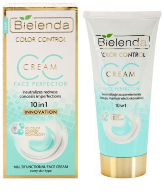 Bielenda Color Control Face Perfector CC Creme gegen die Unvollkommenheiten der Haut 1