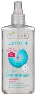 Bielenda Comfort+ antitranspirante em spray para pernas 1