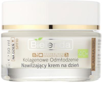 Bielenda BioTech 7D Collagen Rejuvenation 40+ creme de dia hidratante SPF 10