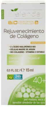 Bielenda BioTech 7D Collagen Rejuvenation 40+ ujędrniający krem pod oczy przeciw zmarszczkom 2