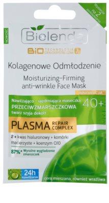 Bielenda BioTech 7D Collagen Rejuvenation 40+ máscara facial de firmeza, antirrugas e hidratante