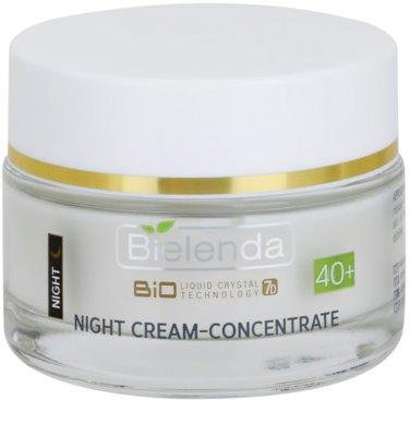Bielenda BioTech 7D Collagen Rejuvenation 40+ creme de noite intensivo para refirmação de pele