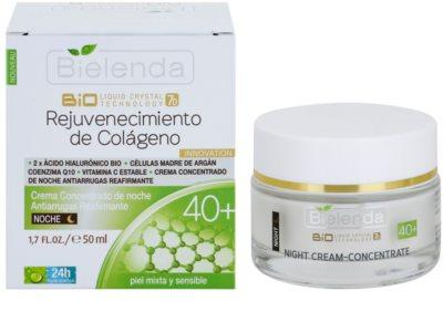 Bielenda BioTech 7D Collagen Rejuvenation 40+ noční intenzivní krém pro zpevnění pleti 1