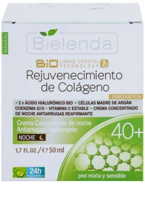 Bielenda BioTech 7D Collagen Rejuvenation 40+ noční intenzivní krém pro zpevnění pleti 2