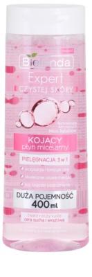 Bielenda Expert Pure Skin Soothing apa pentru  curatare cu particule micele 3 in 1