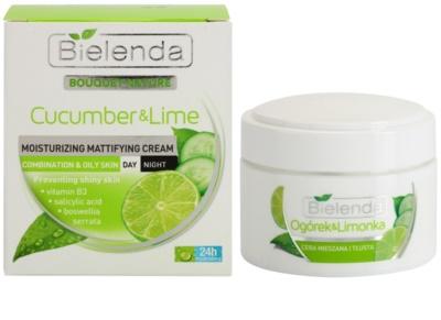 Bielenda Cucumber&Lime hydratační matující krém pro smíšenou a mastnou pleť 1