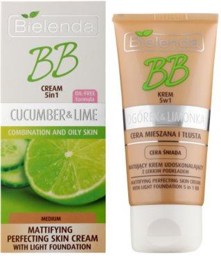 Bielenda Cucumber&Lime crema BB cu efect matifiant 1