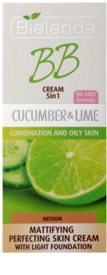 Bielenda Cucumber&Lime crema BB cu efect matifiant 2