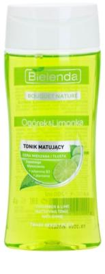 Bielenda Cucumber&Lime tonik matujący do skóry  tłustej