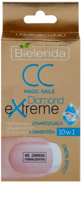 Bielenda CC Magic Nails Diamond Extreme sérum refirmante  para unhas 2