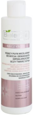 Bielenda Pharm Dilated Capillaries apa pentru  curatare cu particule micele pentru piele sensibila si inrosita