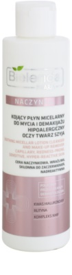 Bielenda Pharm Dilated Capillaries oczyszczający płyn micelarny do skóry wrażliwej i podrażnionej