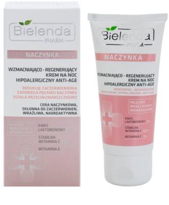 Bielenda Pharm Dilated Capillaries intensive Nachtcreme gegen Hautalterung 1