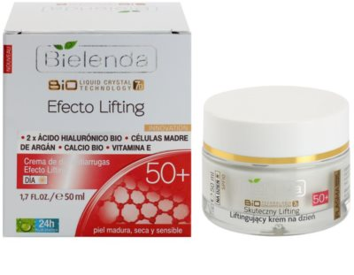 Bielenda Effective Lifting dnevna krema proti gubam z učinkom liftinga 1