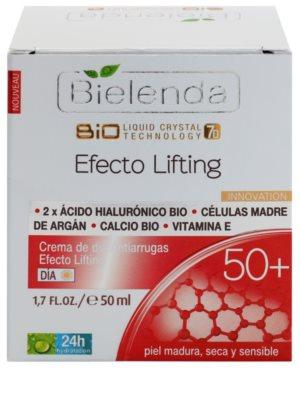 Bielenda Effective Lifting dnevna krema proti gubam z učinkom liftinga 2