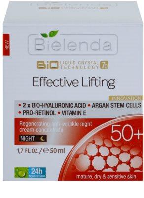 Bielenda Effective Lifting відновлюючий нічний крем проти зморшок 2