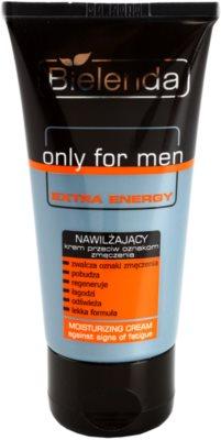 Bielenda Only for Men Extra Energy creme intensivo hidratante contra marcas de cansaco