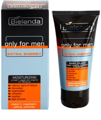 Bielenda Only for Men Extra Energy intenzivna vlažilna krema proti znakom utrujenosti 1