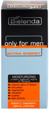 Bielenda Only for Men Extra Energy crema intens hidratanta semne de oboseala 2