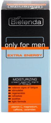 Bielenda Only for Men Extra Energy creme intensivo hidratante contra marcas de cansaco 2