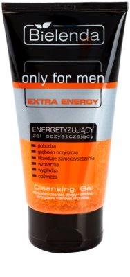 Bielenda Only for Men Extra Energy gel de curatare facial pentru ten obosit