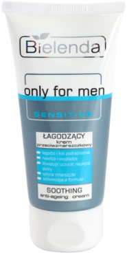 Bielenda Only for Men Sensitive pomirjujoča krema proti gubam