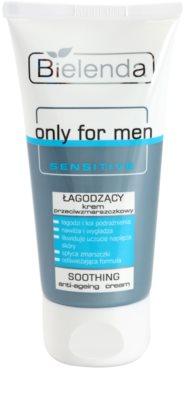 Bielenda Only for Men Sensitive заспокоюючий крем проти зморшок