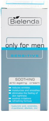 Bielenda Only for Men Sensitive creme apaziguador antirrugas 2