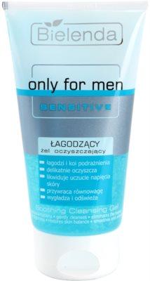 Bielenda Only for Men Sensitive очищуючий гель для чутливої та подразненої шкіри