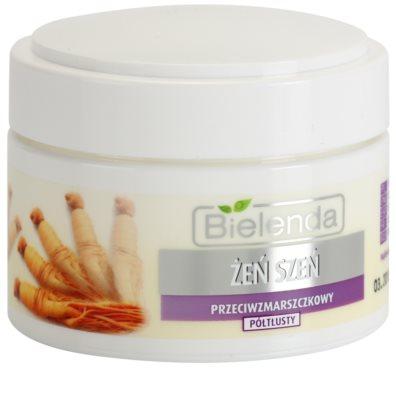 Bielenda Ginseng creme antirrugas para pele seca