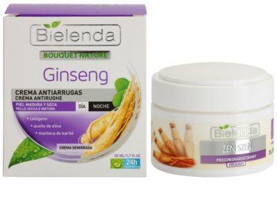 Bielenda Ginseng creme antirrugas para pele seca 1