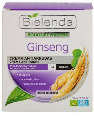 Bielenda Ginseng creme antirrugas para pele seca 2