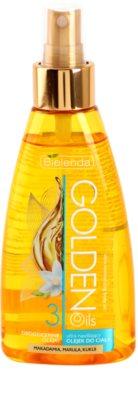 Bielenda Golden Oils Ultra Hydration olejek do ciała w sprayu o dzłałaniu nawilżającym