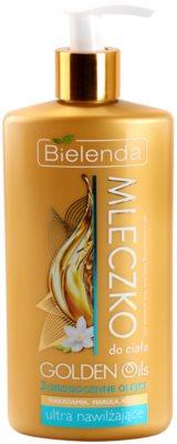 Bielenda Golden Oils Ultra Hydration intenzívne telové mlieko зі зволожуючим ефектом