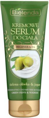 Bielenda Green Olive & Yoghurt Ser corp cremă efect regenerator