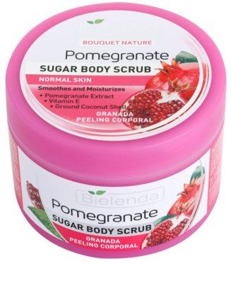 Bielenda Pomergranate piling za telo s sladkorjem vlažilna