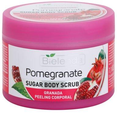 Bielenda Pomergranate пілінг для тіла з цукром зволожуючий 1