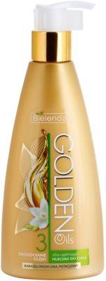 Bielenda Golden Oils Ultra Firming intenzivní tělové mléko pro zpevnění pokožky