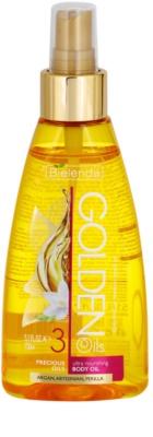Bielenda Golden Oils Ultra Nourishing olje v pršilu za telo za suho kožo
