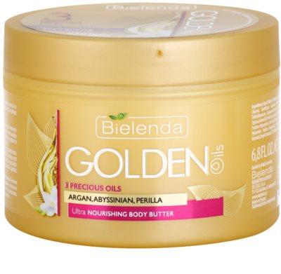 Bielenda Golden Oils Ultra Nourishing unt de corp pentru piele uscata