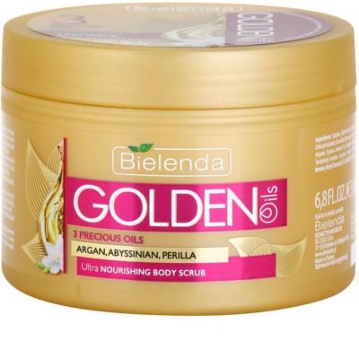 Bielenda Golden Oils Ultra Nourishing tělový peeling pro suchou pokožku