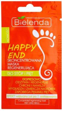 Bielenda Happy End konzentrierte Maske für Fußsohlen und Fersen mit regenerierender Wirkung