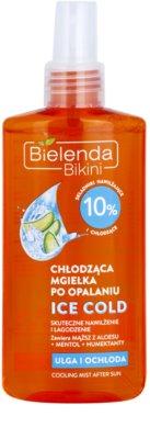 Bielenda Bikini Ice Cold Hidratante corporal after sun de suavização com efeito resfrescante