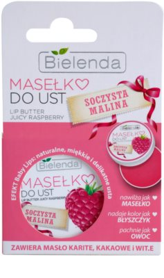 Bielenda Juicy Raspberry pflegende Butter für die Lippen 2
