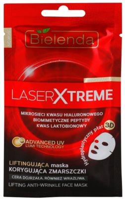 Bielenda Laser Xtreme maseczka płócienna o działaniu ujędrniającym