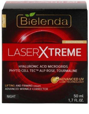 Bielenda Laser Xtreme creme de noite refirmador com efeito lifting 2