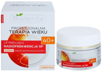 Bielenda Professional Age Therapy Lifting Radiofrequency RF creme antirrugas 40+ 1