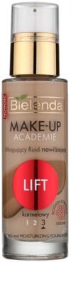 Bielenda Make-Up Academie Lift base hidratante para esticar a pele
