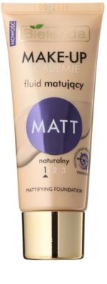 Bielenda Make-Up Academie Matt kryjący podkład, matujący