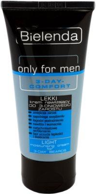 Bielenda Only for Men 3-Day Comfort hidratante leve para apaziguar a pele